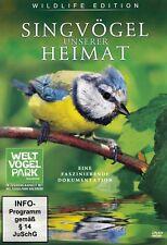 SINGVÖGEL UNSERER HEIMAT / DVD - NEU