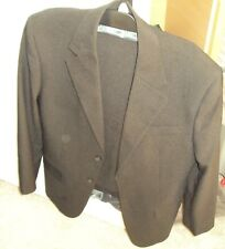 "F & F Black Suit Jacket with Trousers 38"" Chest, W32"", L31"""