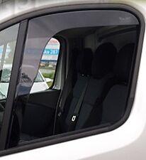 27189 HEKO Wind & Rain Deflectors Vauxhall Vivaro Mk2 2014> Van Front Pair New
