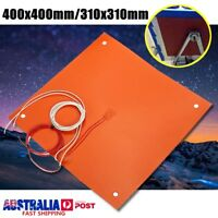 31x31cm/40x40cm Silicone Heater Pad Heating For CR-10 3D Printer Bed Screw Holes