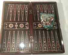 "YENIGUN Turkish 15"" Proffesional Backgammon Board TAVLA Board Game Set"