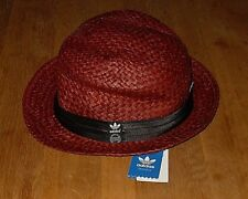 be2690c14fc adidas Originals Womens Red Straw Hat