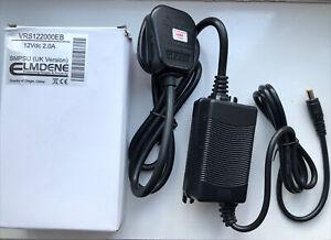 VRS122000EB Elmdene PSU CCTV 12V 2A Power Supply Uncapsulated Uk