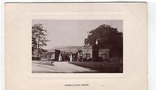 GRANITE LODGE, CRIEFF: Perthshire postcard (C7531)