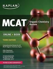 MCAT Organic Chemistry Review: Online + Book (Kaplan Test Prep) - New Book Kapla
