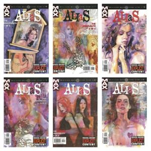 °JESSICA JONES: ALIAS #16-21 UNDERNEATH 1 bis 6 von 6 °US Max 2003 B.M.Bendis