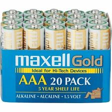 Maxell Aaa20maxell Aaa Alkaline General Purpose Battery