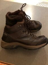 NEW BALANCE 978 Gore-Tex Brown Leather Hiking/Trail Boots Mens Size 10.5