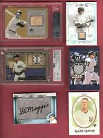 AARON JUDGE ROOKIE JERSEY CARD BABE RUTH BAT MICKEY MANTLE BGS 8.5 JETER PSA 8