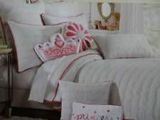 Cynthia Rowley Once Upon A Time Fairytale Princess Twin Quilt Sheet Set 6Pc