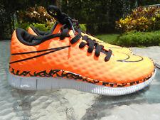 Authentic Nike Free Orange/Black Limited Edition Sneakers Sz 6.5Y EUC