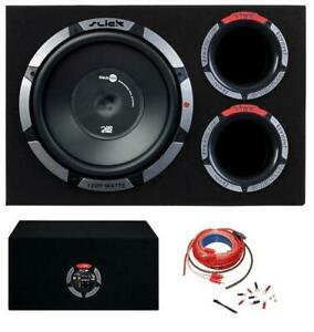 Vibe SLICK CBR12A 12inch Active 1200w Amplified Car Audio Sub Subwoofer Amp Kit