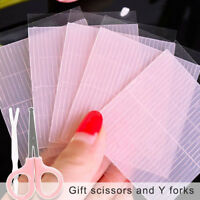 260pcs Invisible Fiber Double Eyelid Lift Strips Tape Adhesive Stickers Eye Tape