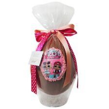 Uovo di Pasqua ARTIGIANALE LOL SURPRISE con SORPRESA da 500 gr Cioccolato latte