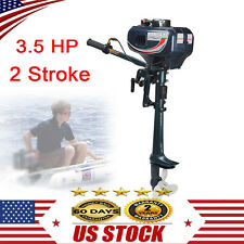 3.5Hp-7Hp Outboard Motor 2/4 Stroke Fishing Boat Engine water Cooling Cdi Usa