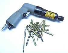 Mint Sioux Adjustable Clutch Reversible Screw Gun with Bits Aircraft Tools