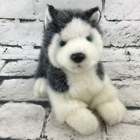 Russ Berrie Blizzard Jr Plush Siberian Huskey Puppy Dog Stuffed Animal Soft Toy