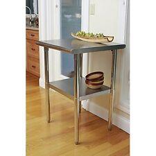 Worktables Workstations Trinity EcoStorage Nsf Stainless Steel Table 24inch