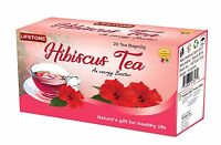 Dried Hibiscus Flower Tea,Detox,Stress relief,Anti Pressure,20 Tea Bags