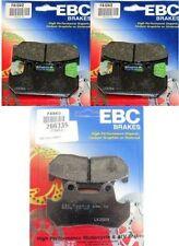 EBC Front + Rear Brake Pads (3 Sets) 1988-2000 Honda GL1500 Gold Wing