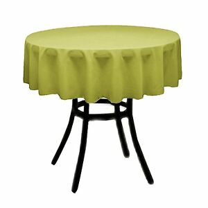 """High Quality Round 36"""" Table linens for small table"""