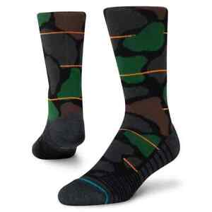 Stance Athletic Socks 'Grit Crew'   L   Crew   New With Tags