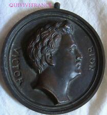 MED7284 - MEDAILLON VICTOR NOIR ( tué par Pierre-Napoléon Bonaparte)