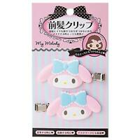 My Melody bangs clip green