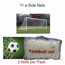 Full Size Adult  Football Net Outside Game Goal Club pitch Netting 24 Feet