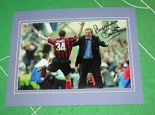 Joe Royle Signed & Mounted Manchester City FC 2000 Promotion Celebration Photo
