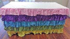 Colourful Themed Waterfall Tablecloth perfect for Birthday Parties!
