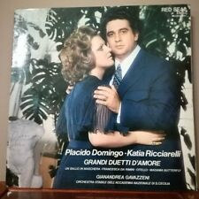 PLACIDO DOMINGO - KATIA RICCIARELLI - GRANDI DUETTI D'AMORE - vinile 33 NUOVO