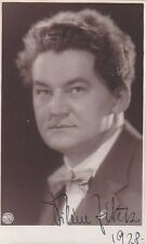 VILEM ZITEK opera bass early signed photo 1928