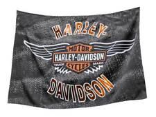 Harley-Davidson Vintage Bar & Shield Wings Estate Flag, Double Sided 17S4918