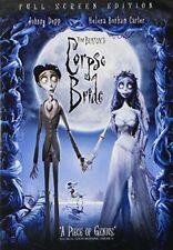Tim Burton's Corpse Bride (Full Screen Edition) [Dvd] New!