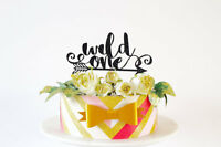 wild one Cake Topper first birthday cake decoration wild one theme