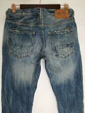 PRPS 32 x 35 Selvedge Donwan Harrell Distressed Button Fly Tall Mens Jeans