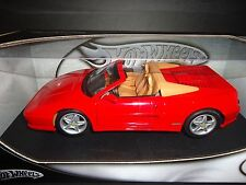 Hot Wheels Ferrari F355 Spider Red 1/18