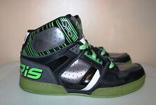OSIRIS BRONX HIGH TOPS NYC 83 SKATE SHOES SIZE 10.5 GREEN great shape rare
