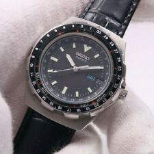 Vintage SEIKO JDM FISHING MASTER 8123-7250 STAINLESS Mens Watch JAPAN RARE