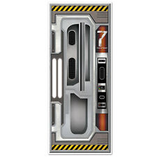 SPACESHIP DOOR COVER / WALL POSTER - PARTY DECORATION
