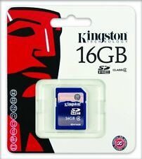 Kingston SD 16GB SDHC memory card for digital camera UK Local Dispatch