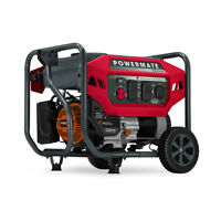 Powermate 8020 - PM4500 4,500 Watt Portable Generator, CO Sense 49ST
