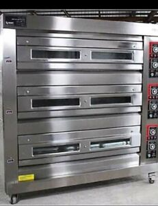 3 deck oven (electric with 9trays)