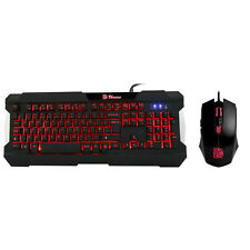 ThermalTake E Sports Commander Keyboard & Mouse Combo Multilight LED Backlit Key