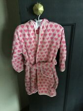 zara home kids Girls Pink Towelling Dressing Gown Age 2/3