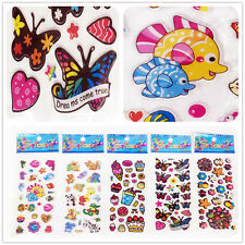 5 sheets repeat stickers lot fish flower butterfly kids favor party Xmas Gift