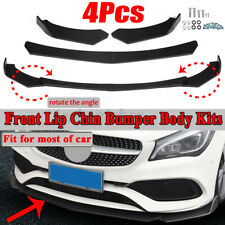 Front Bumper Lip Spoiler Splitters Air Dam For Mercedes W205 W204 W203 C Class