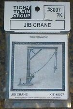 Tichy Train Group #8007 Jib Crane -- Kit Form (Plastic parts w/Chain)
