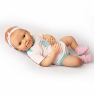 Realistic Baby Grace Kinby Doll with Bottle & Pacifier Ages 3+ Assembled in USA